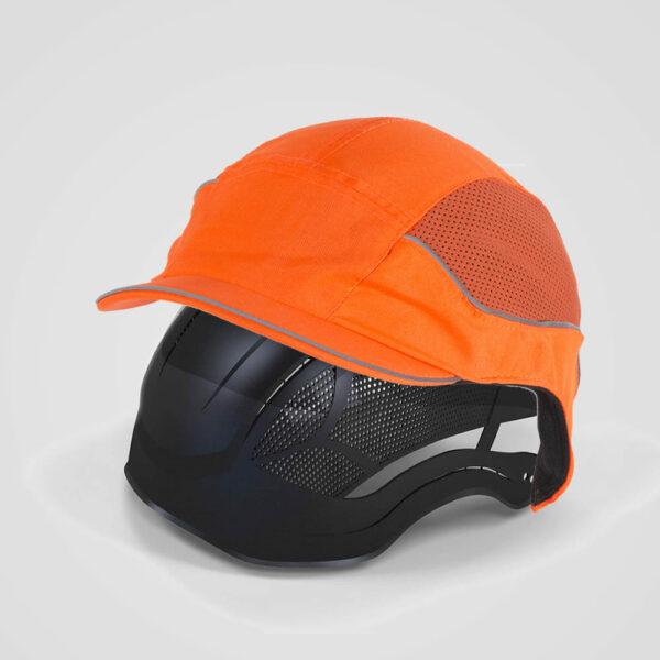 Casquette de sécurité fluo air+3 orange