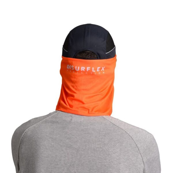 Protège nuque UV+ orange
