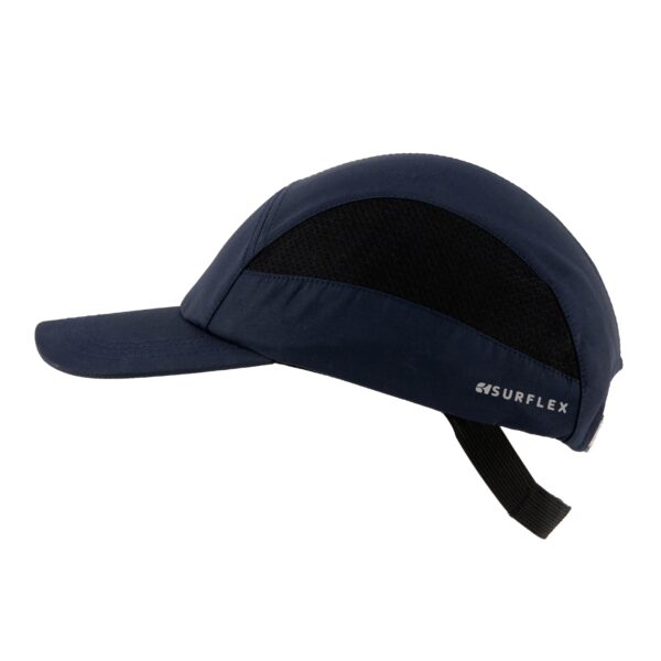 Safety cap with long visor