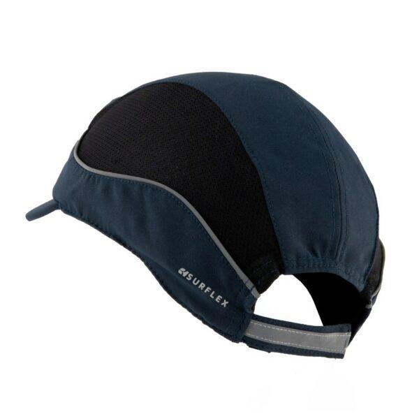 casquette de sécurité LED bleu surflex