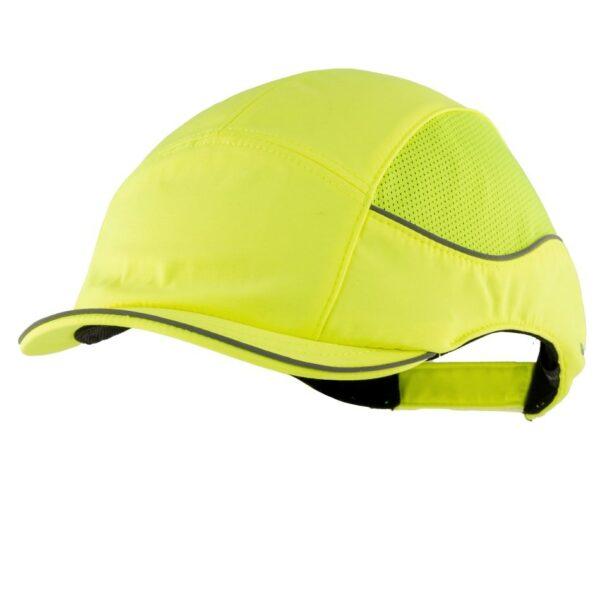 casquette anti-heurt surfex fluo jaune