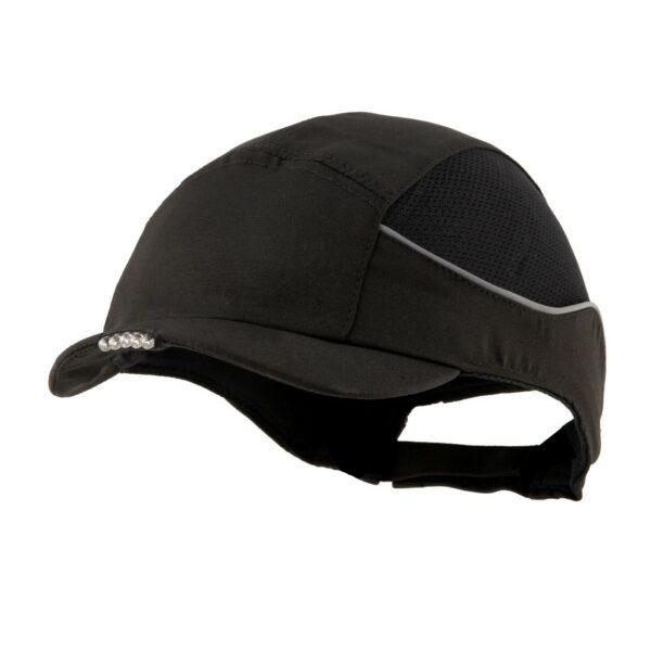 casquette de sécurité LED noir surflex