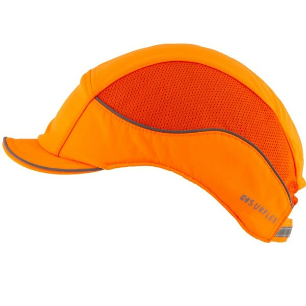 casquette de protection surflex orange fluo