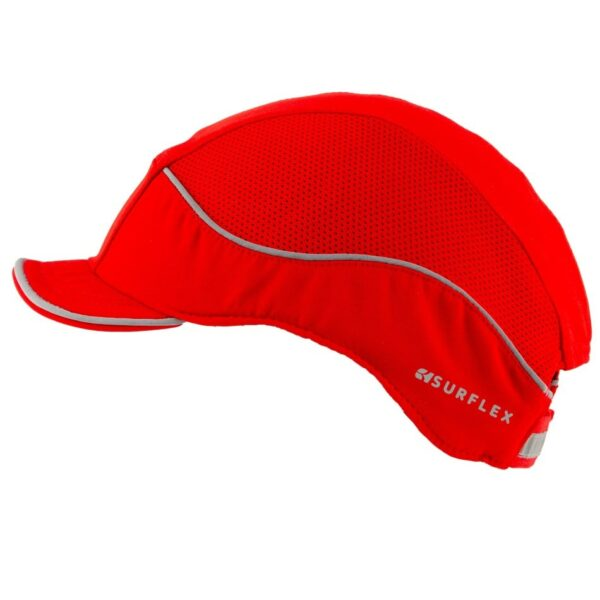 casquette anti heurt air+ rouge