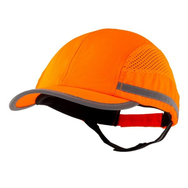 casquette de protection toute saison orange