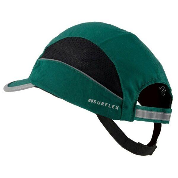 casquette anti-heurt verte