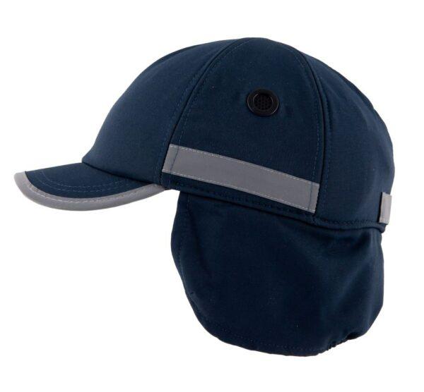 casquette de sécurité hiver surflex bleu