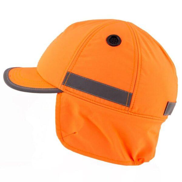 casquette de sécurité hiver surflex orange